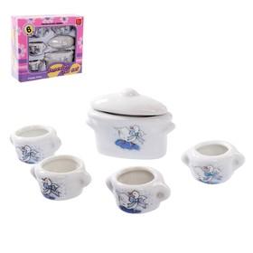 Набор керамической посудки «К чаю»