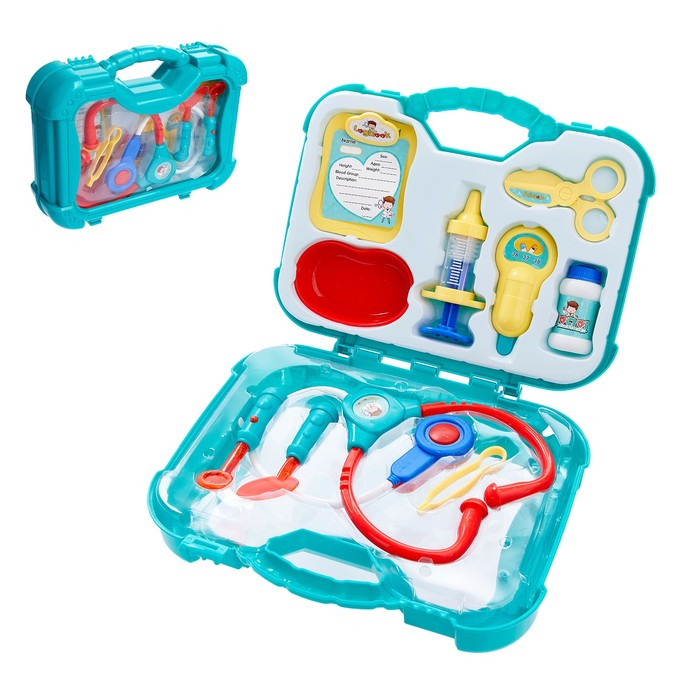 Набор доктора «Маленький врач», в чемодане