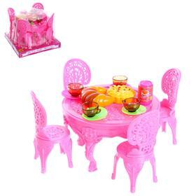 A set of furniture for dolls, mix color