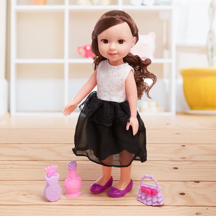 Кукла «Даша» в платье с аксессуарами