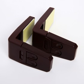 Набор блокираторов, цвет коричневый