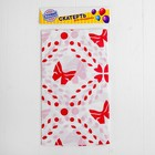 Tablecloth Butterfly 108х180 cm, color red
