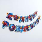 """Гирлянда на люверсах """"С Днем рождения!"""", Человек-паук, дл. 218 см"""