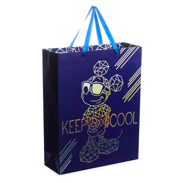 Пакет ламинат вертикальный KEEP COOL LOVE Mickey, 31х40х11 см, Микки Маус