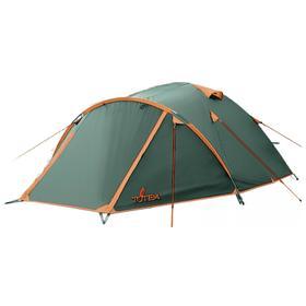 Палатка Indi 3 (V2), 210 х 280 х 120 см, цвет зелёный