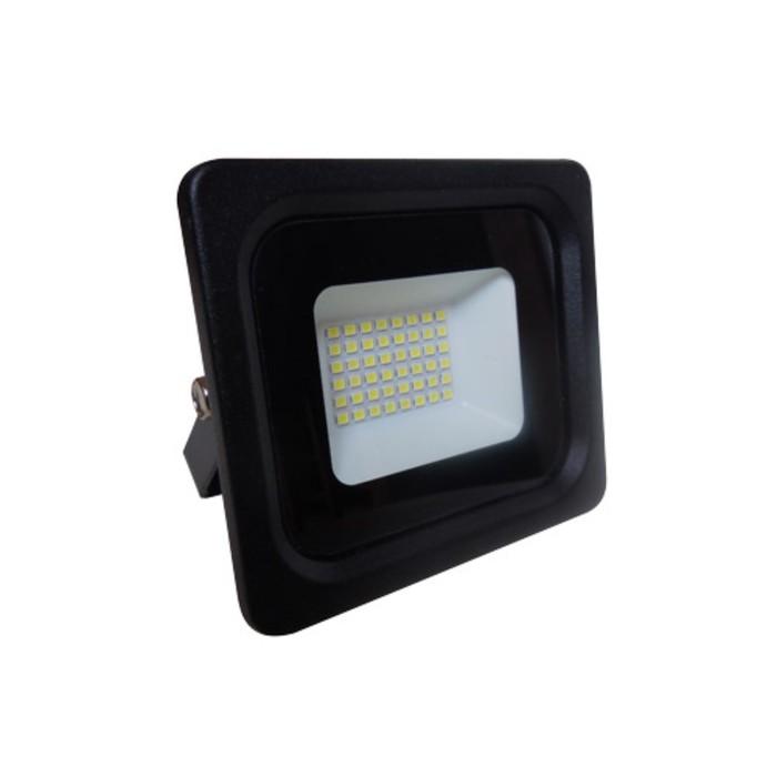 Прожектор светодиодный 61180-30, 30Вт, 6500К, 2400Лм, цвет чёрный