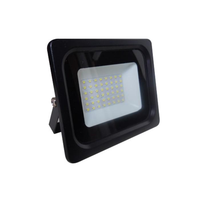 Прожектор светодиодный 61180-50, 50Вт, 6500К, 4000Лм, цвет чёрный