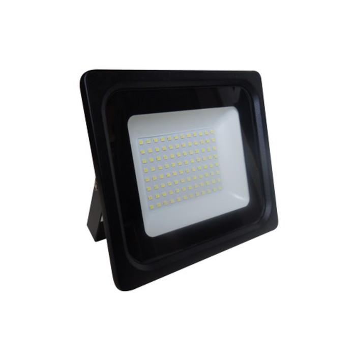 Прожектор светодиодный 61180-100, 100Вт, 6500К, 8000Лм, цвет чёрный