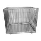 Клетка для собак с мет. поддоном, 60 х 80 х 65 см, хром
