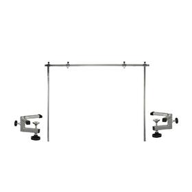 Стойка-кронштейн регулируемая, П-образный, для стола длиной до 120 см, усил. держатель, 80 см   4567