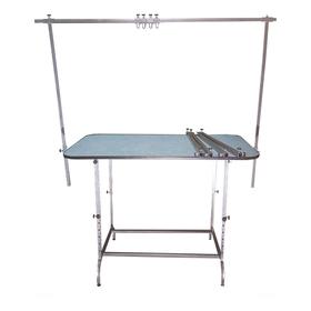 Стол для груминга складной, 120 х 70 см, высота 60 - 120 см, покрытие резина НПШ