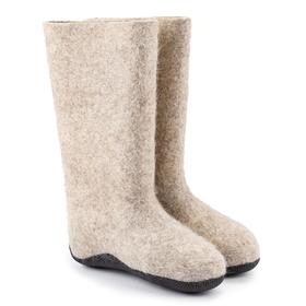 Boots for women RES.sole, color gray, size 36 (24 cm)