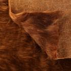 Длинноворсовый мех 100% полиамид, плотность 530г/м2, 50*53 см (шоколад)