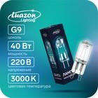 Luazon lamp halogen Lighting G9 40W, 220V