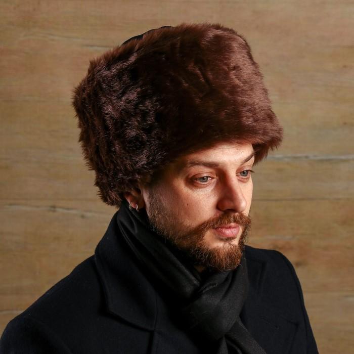 Карнавальная шляпа «Папаха», цвет коричневый