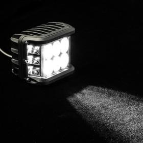 Fog light 12 LED (6 white, 6 yellow), IP67, 36W, 9-30V, directional light