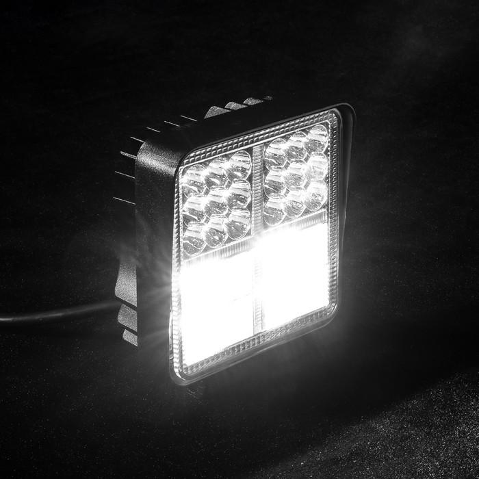 Противотуманная фара 54 LED (38 белых,16 желтых), IP67, 162 Вт, 9-30 В, направленный свет