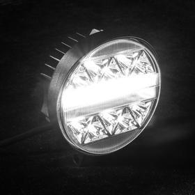 Fog light, 50 LED, IP67, 102w, 9-30V, directional light