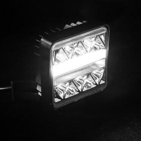 Противотуманная фара 50 LED, IP67, 102 Вт, 12 В, направленный свет