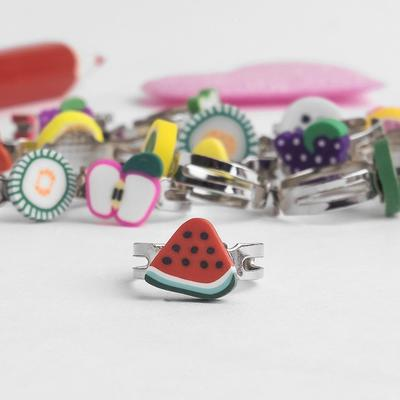 "Ring children's ""Vibracula"" fruktiki, form MIX, MIX color"