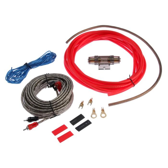 Установочный комплект проводов 8GA, 1600 Вт, 4 предмета