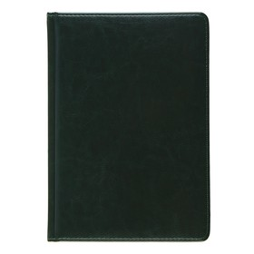 Undated diary A5 +, 136 sheets Sidney Nebraska, imitation leather, gold cut, lassie, green.