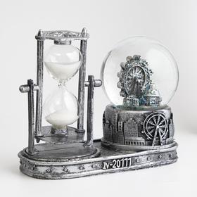 """Часы песочные """"Лондонское колесо обозрения"""",  с подсветкой, 16х8х13.5 см, (3ААА) в Донецке"""