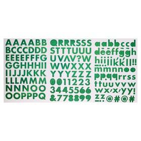 "Стикеры-алфавит Sticko ""Green"" 178 шт"