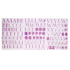 "Стикеры-алфавит Sticko ""Lavender"" 148 шт"