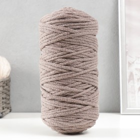 Cord for knitting 100% cotton width 5mm 100m (i.e. beige)