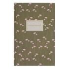 Ежедневник недатированный А5, 128 листов клетка «Цветочный паттерн», твёрдая обложка, глянцевая ламинация