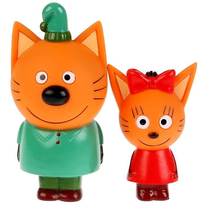 Игрушка для купания «Три Кота, Карамелька+Компот»