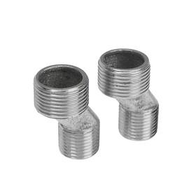 Эксцентрики для смесителя LuazonAqua LA71, нержавеющая сталь, отражатели и прокладки, 2 шт