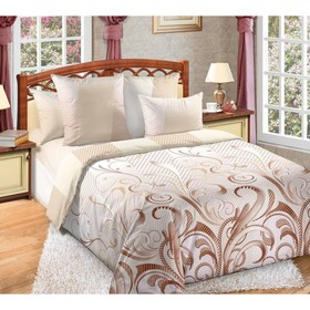 Bedclothes 1,5sp fusion 143x215 145x214, 70x70cm 2pcs percale 115g / m, hl100%