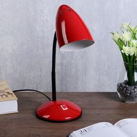"""Лампа настольная """"Ученик"""" 1х60Вт Е27 красный 21х14х34 см."""