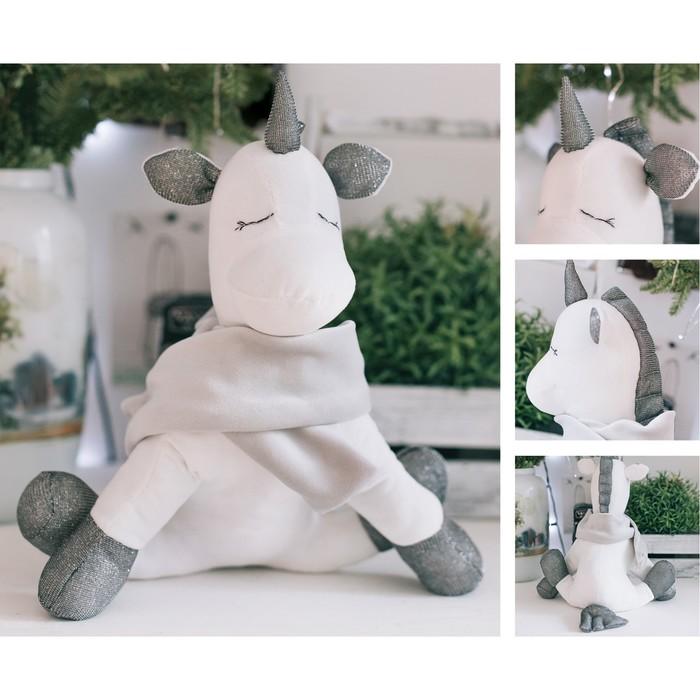 Мягкая игрушка «Единорог Сима», набор для шитья, 22.4 × 5.2 × 15.6 см - фото 691727