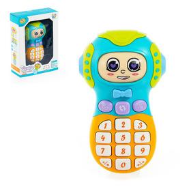 Телефон «Забавное личико», звуковые эффекты, лицо крутится, показывая разные эмоции, МИКС
