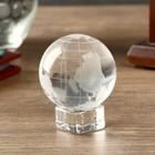 """Сувенир стекло """"Глобус на подставке"""" 6,2х5х5 см"""