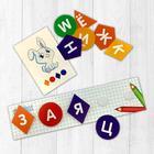 """Игрушка развивающая """"Веселые липучки. Изучаем алфавит"""" МИНИ - фото 105899072"""