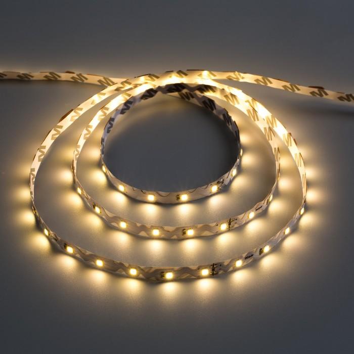 Светодиодная лента SMD2835, 5 м. IP20, 60LED, 4.8W/метр, 6-7 Lm/1 LED,24V, ГИБКАЯ Т. БЕЛ