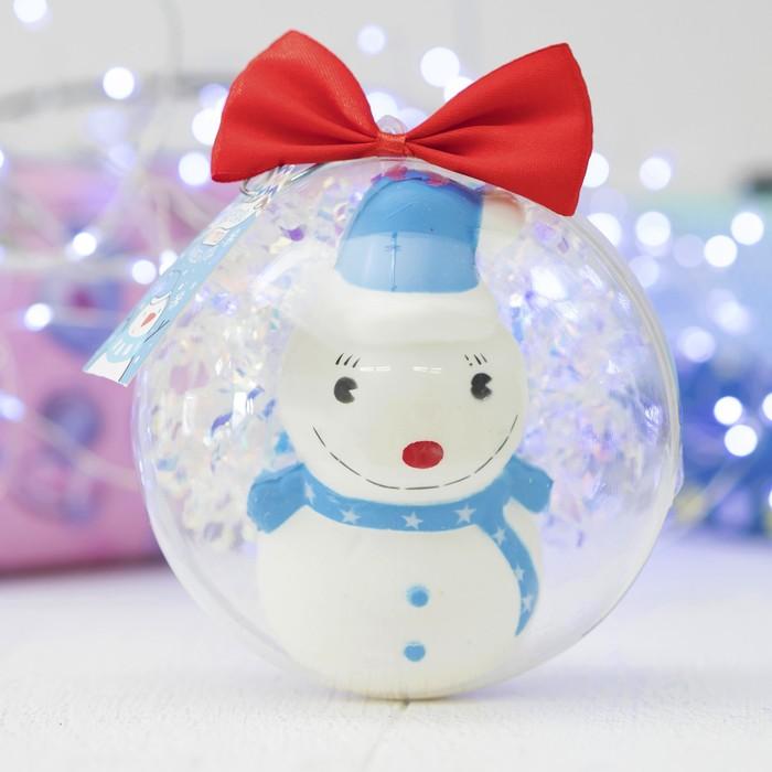 Сквиш «Снеговичок»