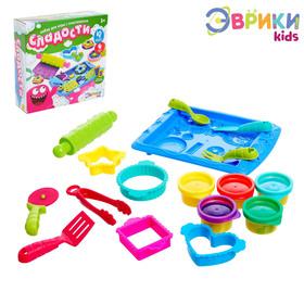 Набор для игры с пластилином «Сладости»