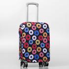 Чехол для чемодана «Пончики», S, 50 × 50 см