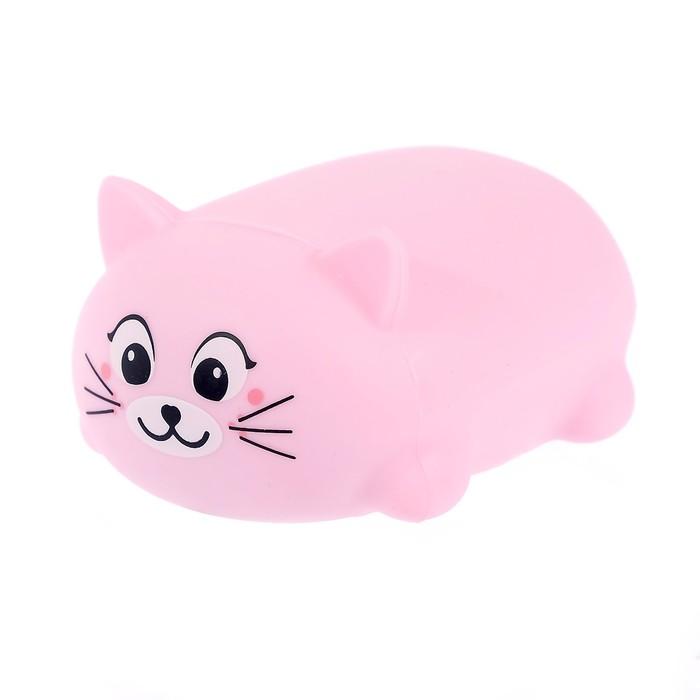 Музыкальная игрушка «Милый котёнок», световые и звуковые эффекты, цвет МИКС