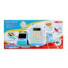 Игровой набор «Касса-калькулятор», со сканером и продуктовой лентой - фото 1002527