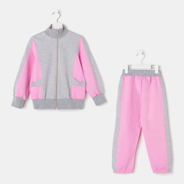 Костюм для девочки (толстовка/брюки) Алина, 110 см