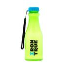 Бутылка спортивная IRONTRUE Голубой-Зеленый 550 мл