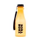 Бутылка спортивная IRONTRUE Черный-Оранжевый 550 мл