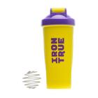 Шейкер IRONTRUE Фиолетовый-Желтый 600 мл