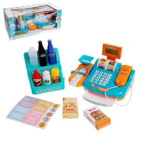 Игровой набор «Касса-калькулятор», со сканером и весами